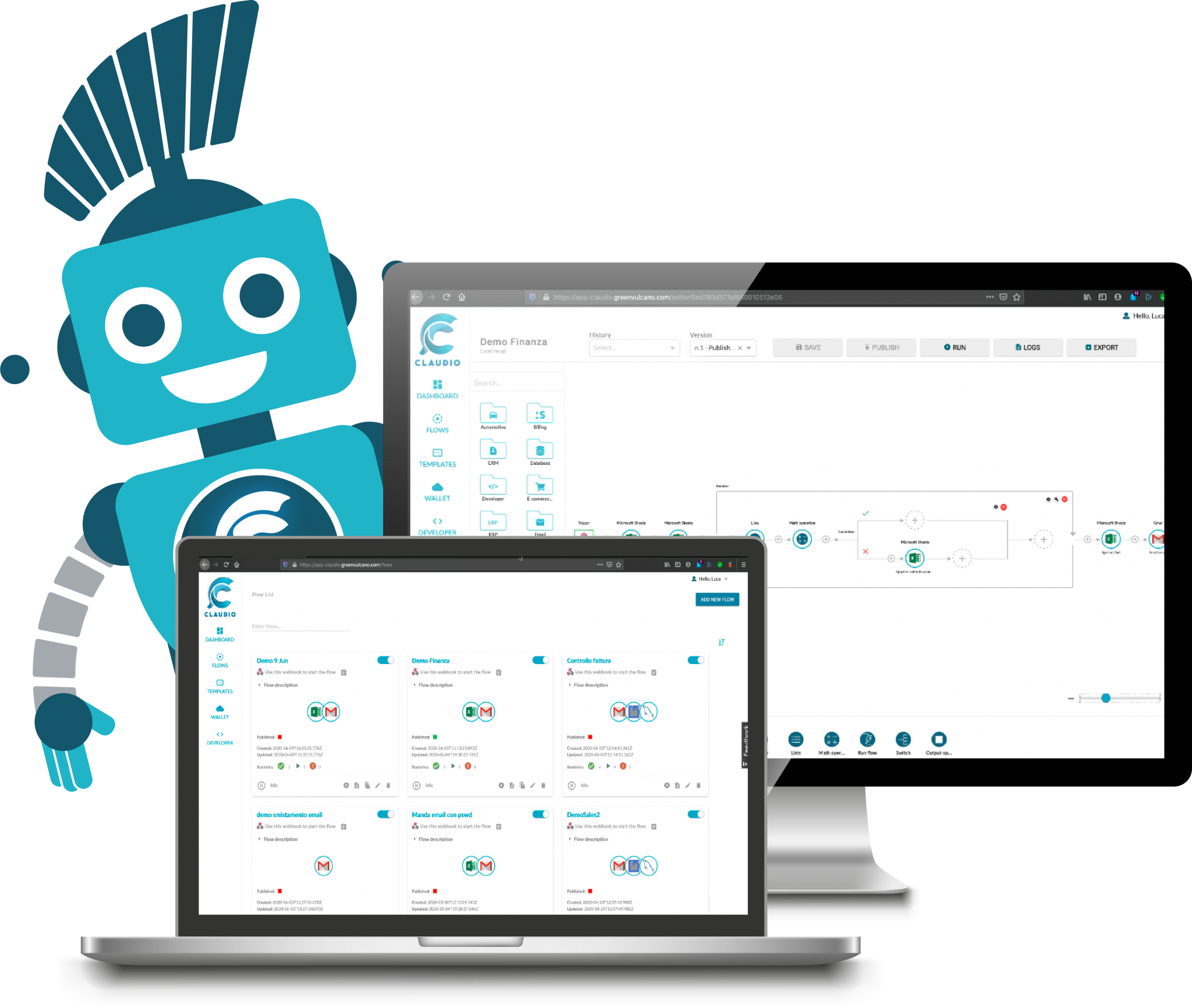 Claudio - RPA Automation Tool
